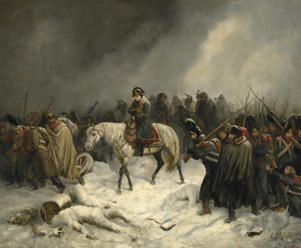 Napoleons Rückzug aus Russland, de A. Northern