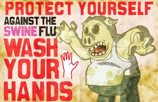 Protégete contra la gripe del cerdo