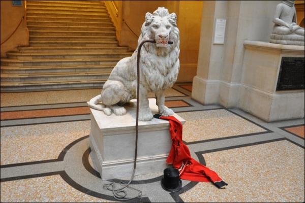 Banksy en el Museo Bristol