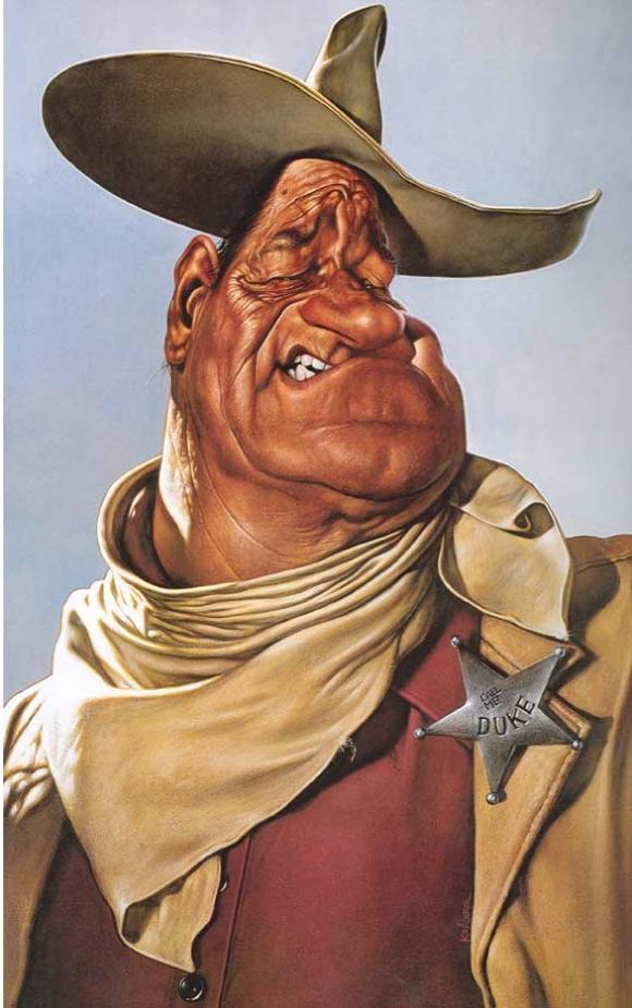 John Wayne, por Sebastian Krüger