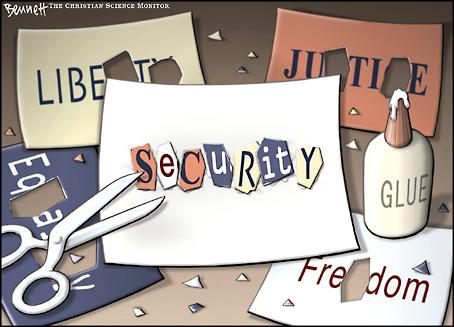 Seguridad, por Clay Bennet