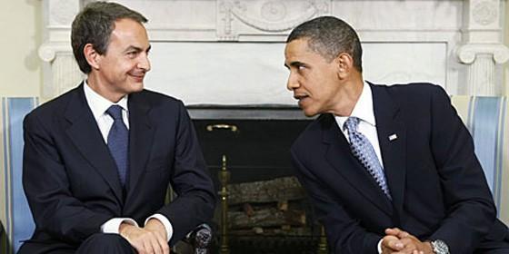 Obama y Zapatero se encuentran en La Zarzuela