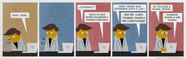 Internet, por Bunsen