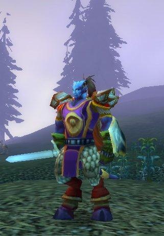 Lothoren, draenei del Exodar en World of Warcraft